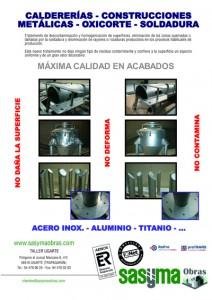 CALDERERIAS CONSTRUCIONES METALICAS OXICORTE SOLDADURA